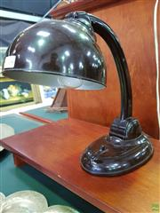 Sale 8625 - Lot 1047 - Art Deco Bakelite Desk Lamp -