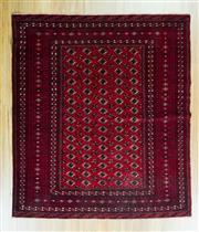 Sale 8625C - Lot 46 - Persian Turkman 139cm x 119cm