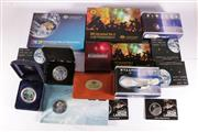 Sale 9035M - Lot 807 - Large collection of Royal Australian Mint and Perth Mint Space related Coins incl. silver first shuttle 2007 coin