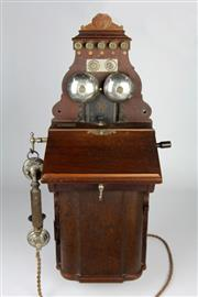 Sale 8425 - Lot 59 - Ericsson Commonwealth of Australia Wall Telephone