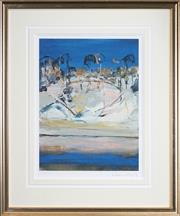 Sale 8443 - Lot 543 - Arthur Boyd (1920 - 1999) (2 works) - Shoalhaven Series 39.5 x 30cm