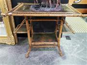 Sale 8462 - Lot 1002 - Antique Bamboo Side table