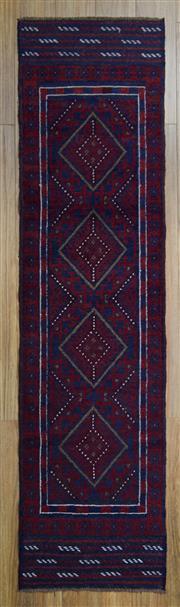 Sale 8566C - Lot 49 - Persian Baluchi Runner 235cm x 60cm