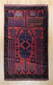 Sale 8576C - Lot 74 - Persian Baluchi 152cm x 90cm