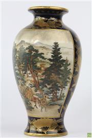 Sale 8594 - Lot 86 - Japanese Satsuma Vase