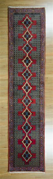 Sale 8625C - Lot 47 - Persian Bidjar 405cm x 95cm