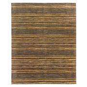 Sale 8918C - Lot 1 - India Abrash Stripes Carpet, 310x245cm, Handspun Bamboo