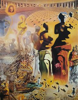 Sale 9108A - Lot 5062 - Salvador Dali (1904 - 1989) - Hallucinogenic Toreador 77 x 61 cm