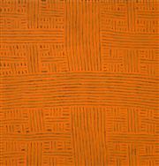 Sale 8467 - Lot 520 - Bambatu Napangardi (c1940 - ) - Kungka Tjukurrpa 105 x 96cm