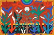Sale 8504 - Lot 533 - John Coburn (1925 - 2006) - Paradise Garden, 1988 48 x 72cm