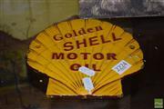 Sale 8509 - Lot 2224 - Cast Iron Shell Advertisement