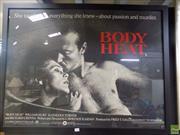 Sale 8557 - Lot 2053 - Body Heat Framed Poster