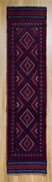 Sale 8566C - Lot 50 - Persian Baluchi Runner 270cm x 60cm