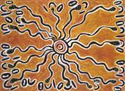 Sale 8718 - Lot 553 - Lorna Fencer Napurrurla (c1925 - 2006) - Bush Potato, c2002 acrylic on canvas