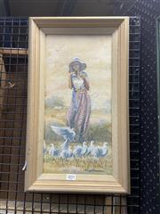 Sale 8895 - Lot 2051 - James Thomson - Feather Companionsoil on canvas on board, 29 x 49.5cm (frame), signed