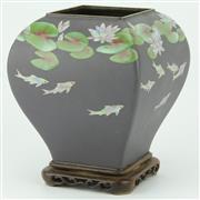 Sale 8332 - Lot 1 - Ando Jubei Moriage Vase