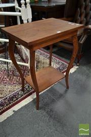 Sale 8507 - Lot 1071 - Silky Oak Side Table