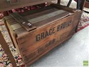Sale 8554 - Lot 1062 - Rustic Timber Lift Top Box