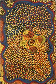 Sale 8718 - Lot 515 - Susie Bootja Bootja Napaltjarri (1935 - 2003) - Untitled, 1995 acrylic on canvas