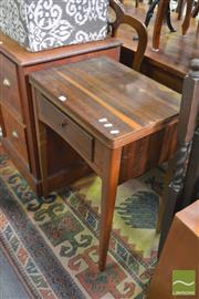 Sale 8390 - Lot 1570 - Singer Sewing Machine in Cabinet