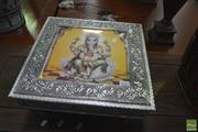Sale 8431 - Lot 1036 - Metal Clad Indian Stool