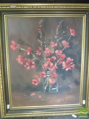 Sale 8513 - Lot 2020 - Judy Brownie - Japonica, 1946 49 x 39cm