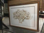 Sale 8751 - Lot 2051 - Lauren Sanders - Native Australian Wildlifewatercolour, 52.5 x 9cm, signed lower right