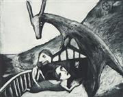 Sale 8773 - Lot 547 - Garry Shead (1942 - ) - The Presence 24.5 x 31.5cm