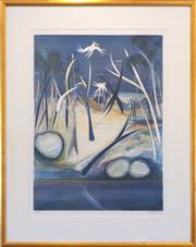 Sale 8858H - Lot 26 - Arthur Boyd (1920 -1999) - Shoalhaven Evening 73 x 54cm