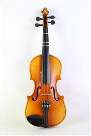 Sale 8940 - Lot 59 - Cased Violin with bow