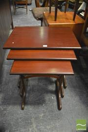 Sale 8338 - Lot 1065 - G-Plan Nest of Three Tables