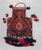 Sale 8480C - Lot 11 - Persian Salt Bag 50cm x 39cm