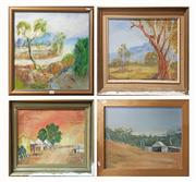 Sale 8604 - Lot 2078 - 4 Landscape Works, incl Foley & Humphrys -