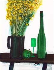 Sale 8839A - Lot 5034 - Stanislaus Rapotec (1913 - 1997) - Untitled (Still Life) 63 x 47cm