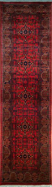 Sale 8290A - Lot 23 - Afghan Khal Mohamadi 300cm x 75cm RRP $1000