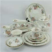 Sale 8356 - Lot 97 - Royal Albert Constance Dinner Setting