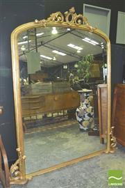Sale 8371 - Lot 1012 - Large Gilt Framed Mirror