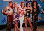Sale 8635A - Lot 5034 - Victoria Beckham, Emma Bunton, Geri Halliwell, Melanie Brown & Melanie Chisholm