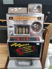 Sale 8637 - Lot 1006 - Vintage Aristocrat One Armed Bandit