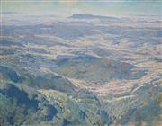 Sale 8867 - Lot 564 - Alfred Herbert Cook (1907 - 1970) - Tyenna Valley, Tasmania 70 x 90 cm