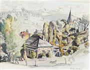 Sale 8938 - Lot 506 - Cedric Emanuel - Historic Carcoar 1827 39 x 50 cm