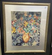 Sale 9004 - Lot 2021 - Tanya Short, Mixed Lilies, watercolour, 87 x 76cm (frame), signed lower right