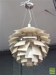 Sale 8421 - Lot 1093 - Louis Poulsen Artichoke Hanging Light