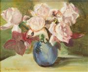 Sale 8475 - Lot 571 - Constance Tempe Manning (1896 - 1960) - Still Life 21.5 x 27cm
