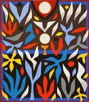 Sale 8583 - Lot 518 - John Coburn (1925 - 2006) - Hozanna, 1988 55 x 48cm