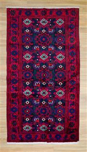 Sale 8576C - Lot 80 - Persian Hamadan 244cm x 126cm