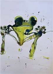 Sale 8659A - Lot 5001 - John Olsen (1928 - ) - Leaping Frog 112 x 82cm