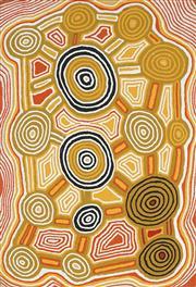 Sale 8718 - Lot 501 - Sam Tjampitjin (c1930 - 2004) - Untitled, 1996 acrylic on canvas