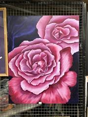 Sale 8816 - Lot 2096 - Robyn DeWitt - Camellias, oil on canvas, SLR