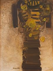 Sale 8839A - Lot 5035 - Stanislaus Rapotec (1913 - 1997) - Vase of Flowers 135 x 104cm
